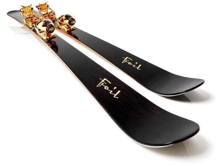 Oro-Nero, le ski à 63 000€ de chez Foil : entre objet de luxe et oeuvre d'art