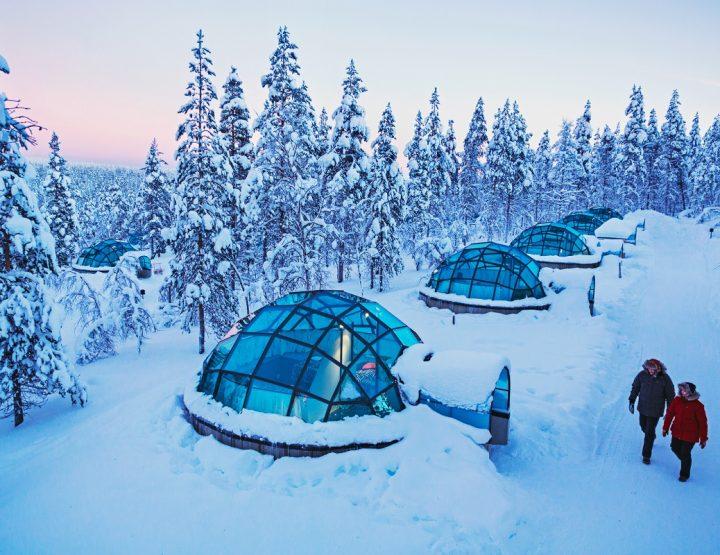 Les plus beaux hébergements insolites, sélection spéciale neige