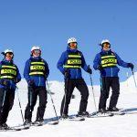 patrouille ski piste