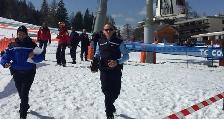 Une télécabine chute sur une piste de ski à Pra Loup dans les Alpes-de-Haute-Provence