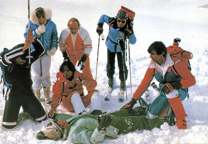 Qui a dit que le ski était contraignant ?