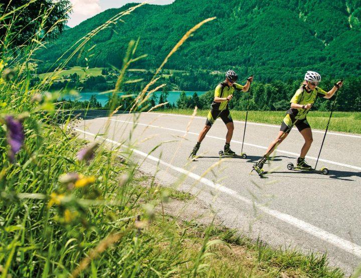 Le ski roue pour votre entrainement cet été