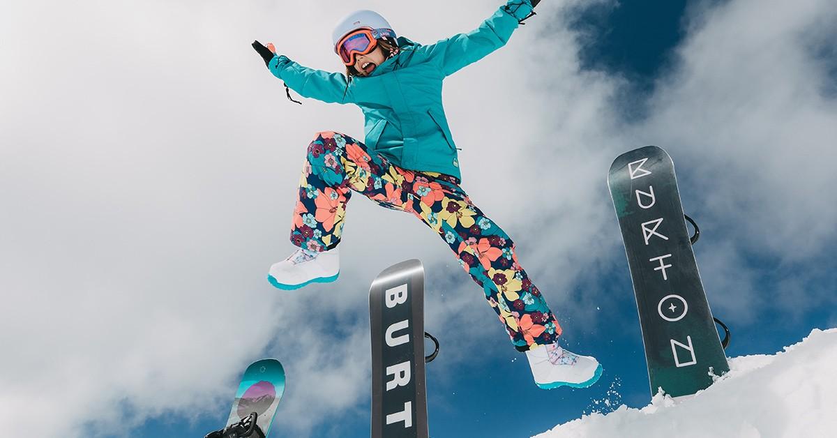 Burton Snowboards 2019 fun