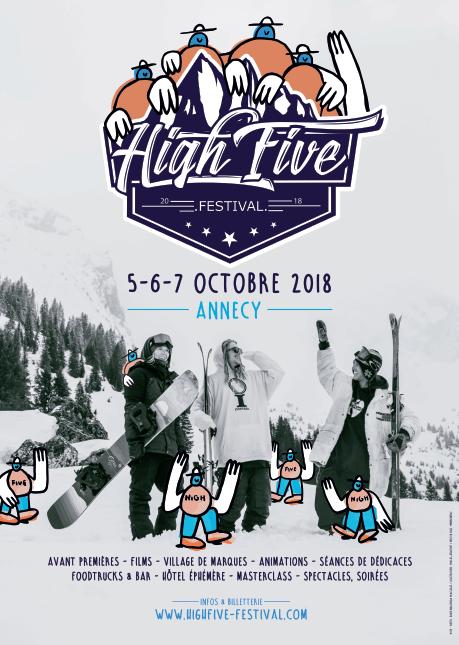 affiche festival high five 2018