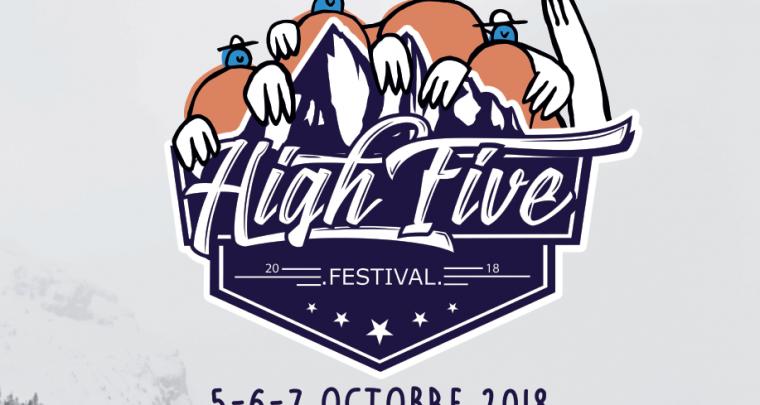 Tempête de nouveautés sur le High Five Festival 2018