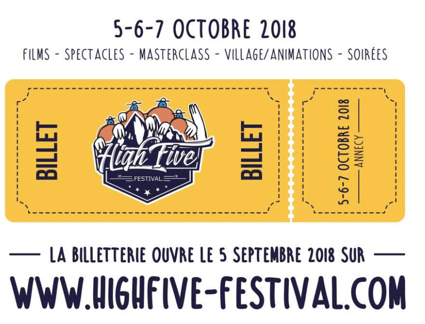 billetterie high five festival