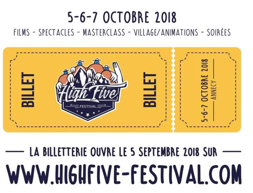 billetterie high five festival