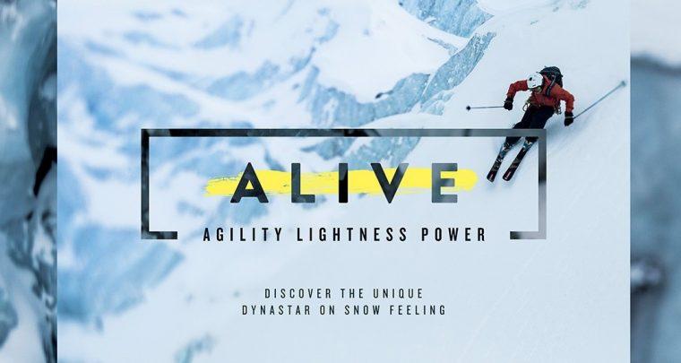 Vivre le ski autrement avec Alive de Dynastar