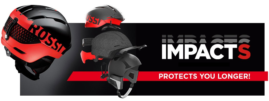 casques de ski Rossignol Impacts
