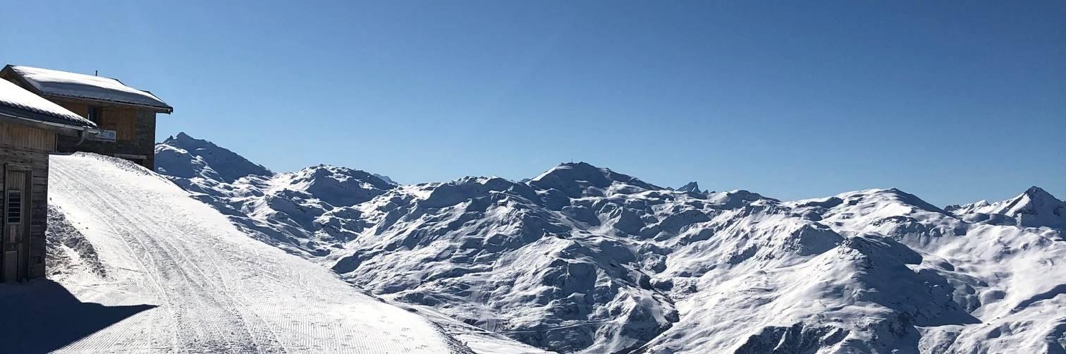 paysage ski test meribel 2019