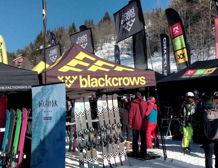 Ski test Meribel 2019