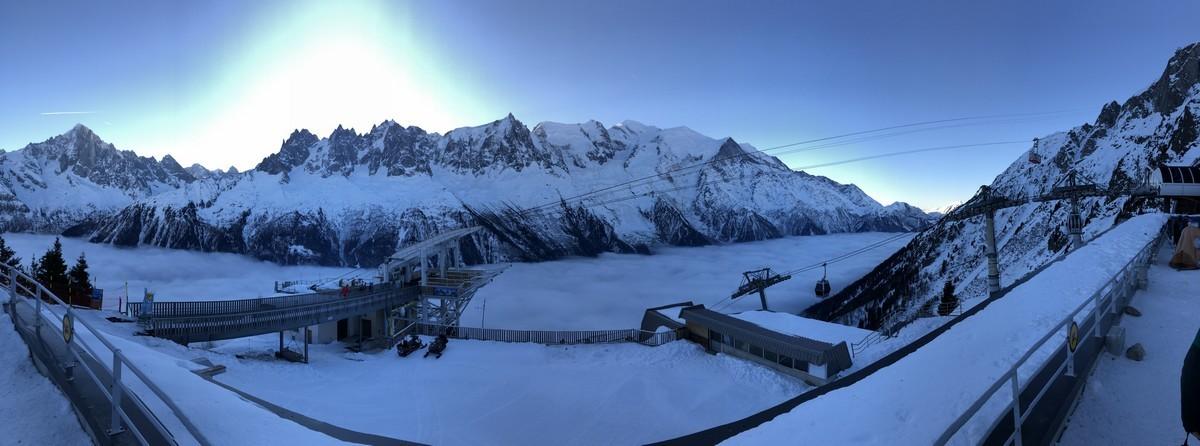 ski test chamonix