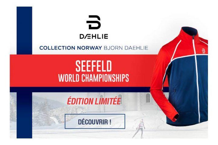 Seefeld Bjorn Daehlie : la série limitée des championnats du monde 2019