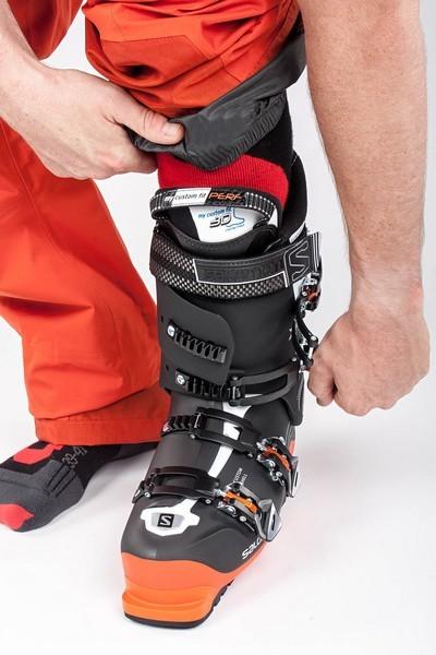 serrage chaussure ski