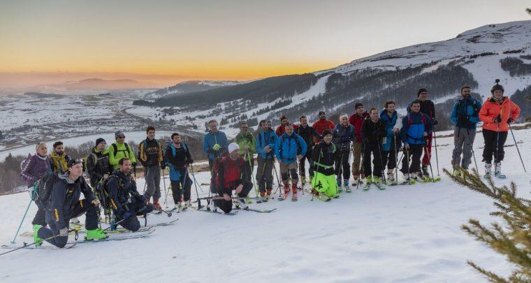 À la découverte du ski de rando en nocturne à Super Besse