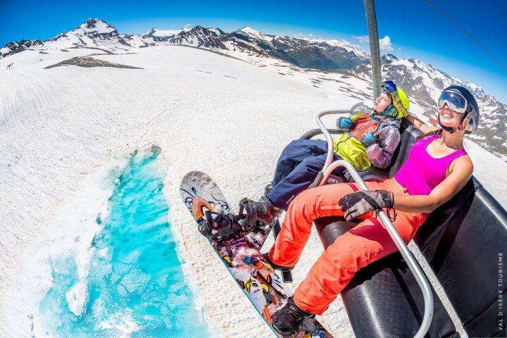 Les meilleures stations françaises pour skier au printemps