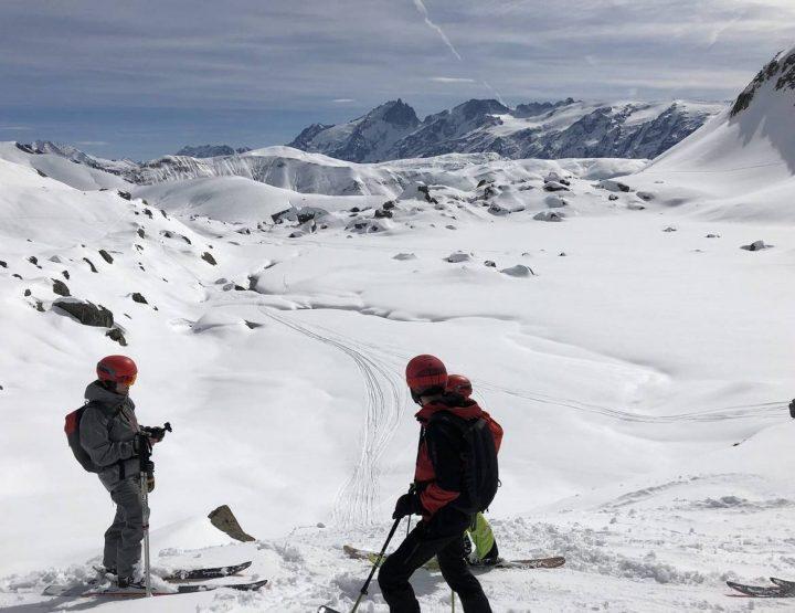 Sortie freeride à l'Alpe d'Huez avec Atomic