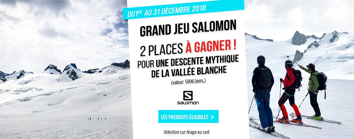 Concours Salomon vallee blanche