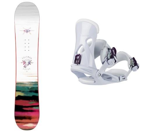 Pack snowboard Salomon Lotus Fix Nx Fay I White Head