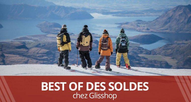 SOLDES été 2019 : les bonnes affaires Glisshop !