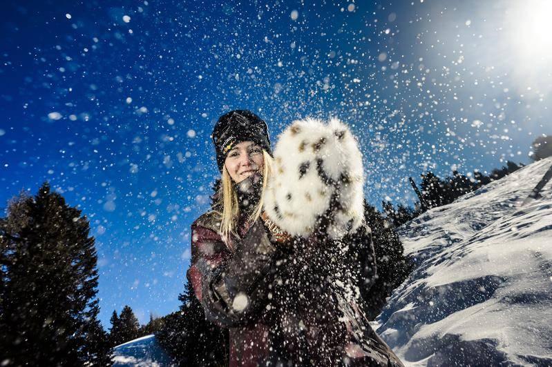 moufles ski