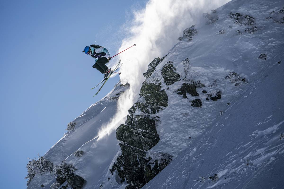 Freeride World Tour Fieberbrunn Stefan Voitl