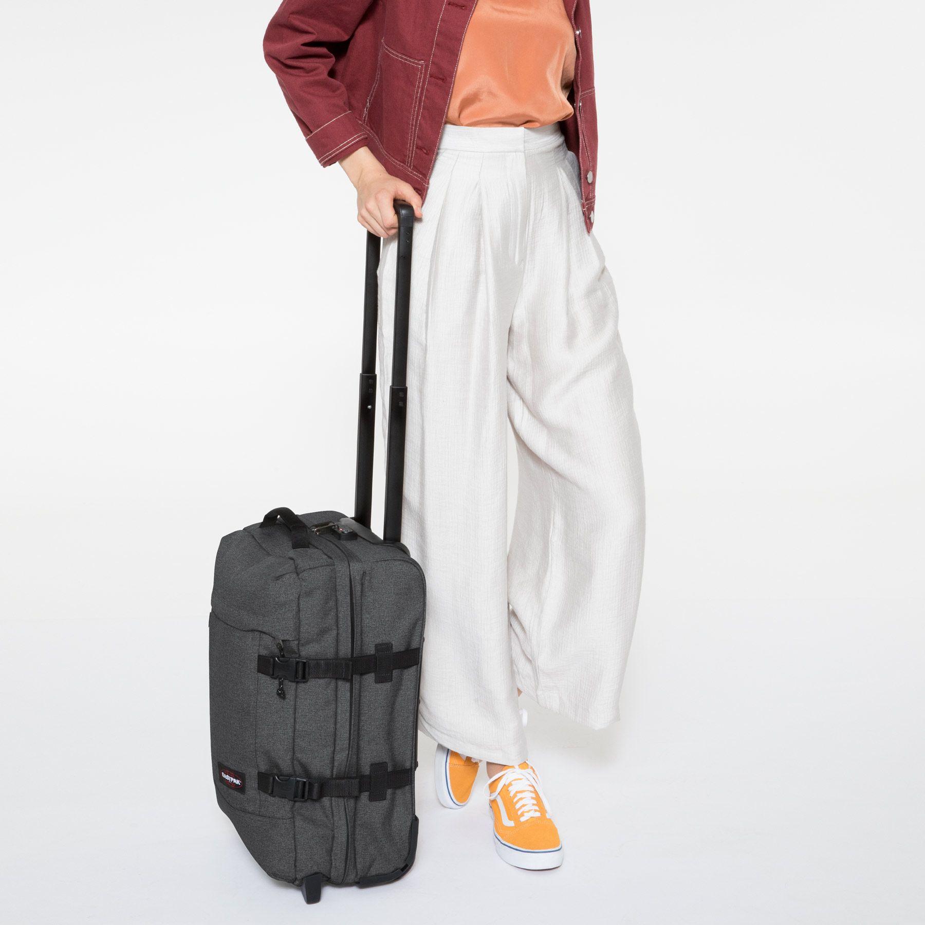 sac à roulettes Tranverz-S-Black-Denim