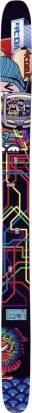 topsheet du ski droit atomic bent chentler 2009