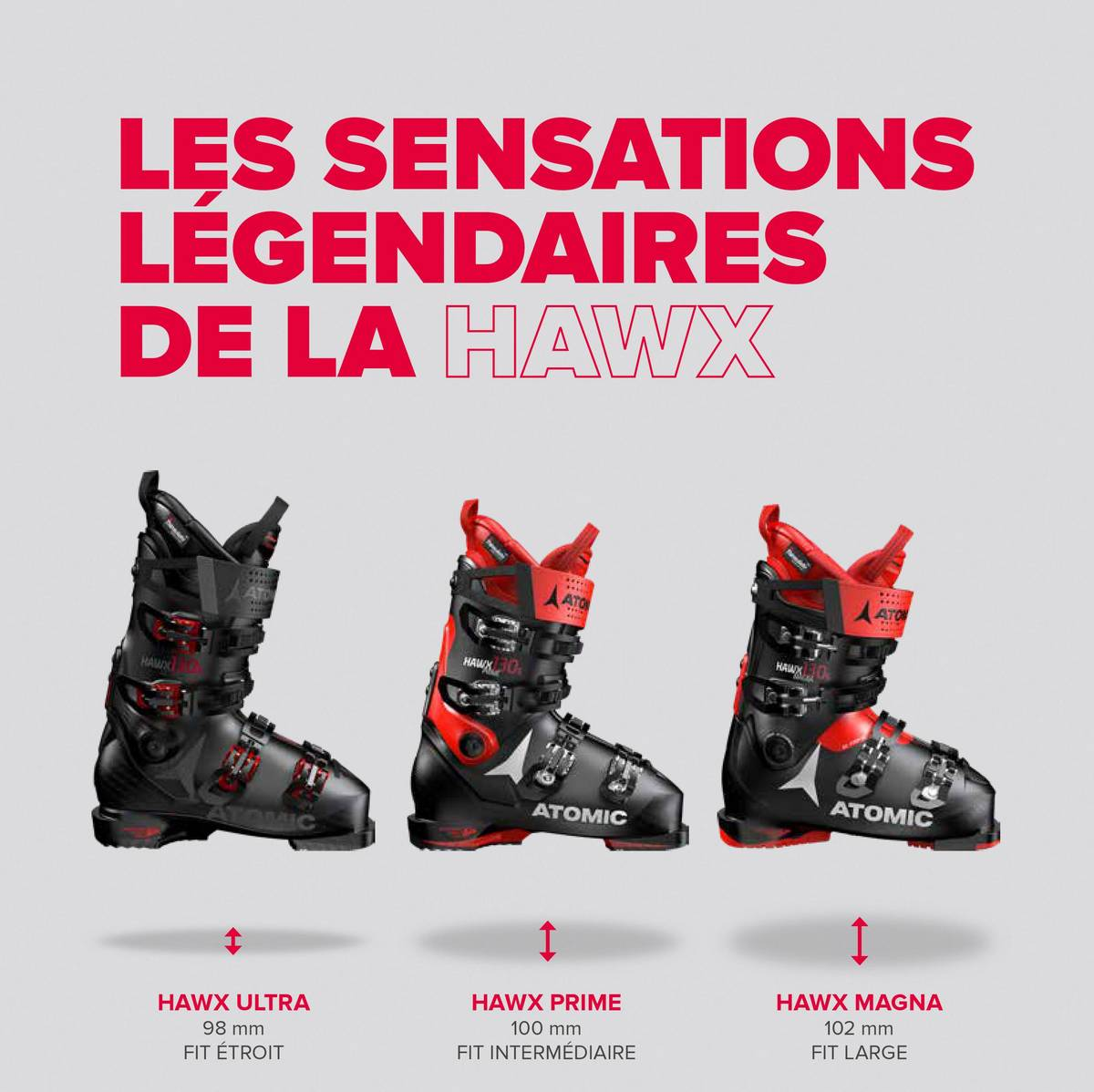 Chaussure de ski Atomic Hawx fit