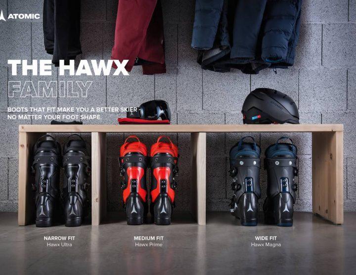 Atomic Hawx, une gamme pour chausser tous les pieds