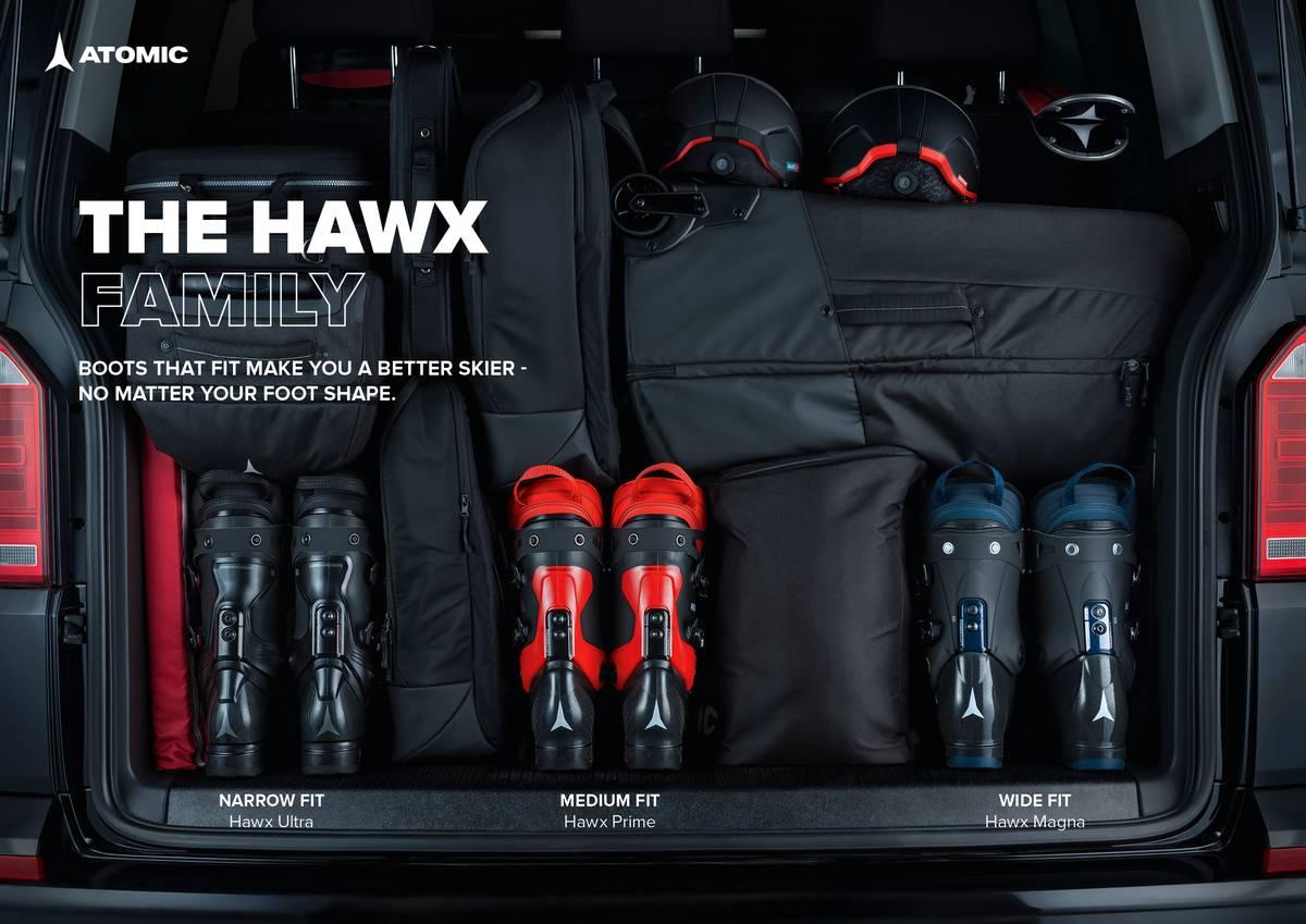 Gamme chaussure ski Atomic Hawx