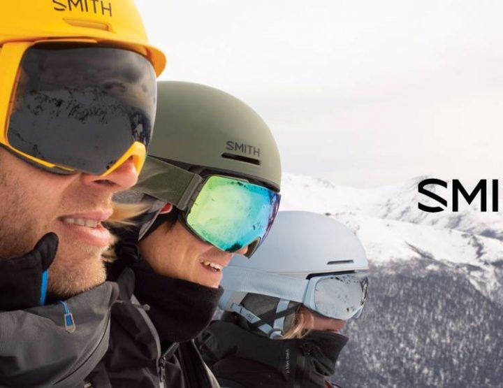 Masques et casques de ski Smith : des concentrés de technologies !
