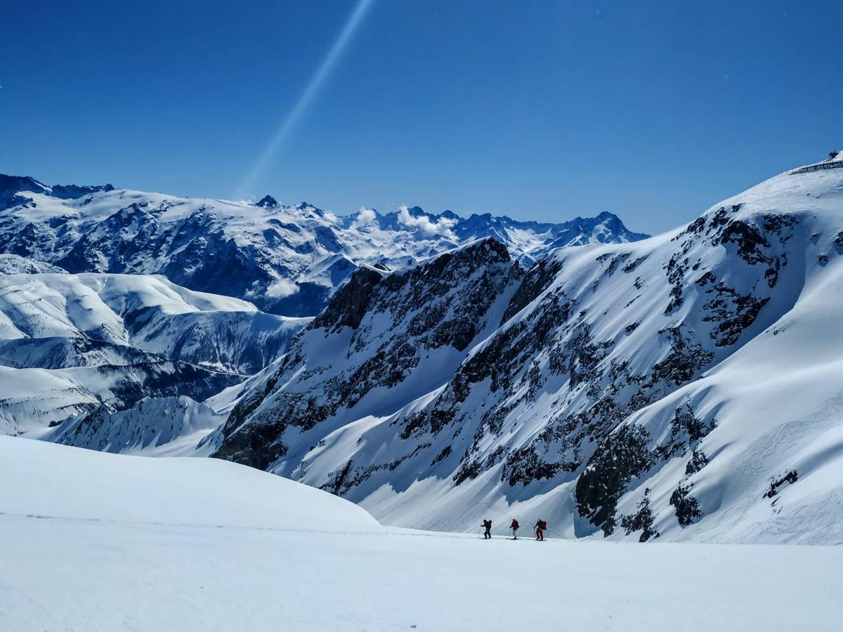 sortie freerando Atomic Alpe Huez 14 mars 2020