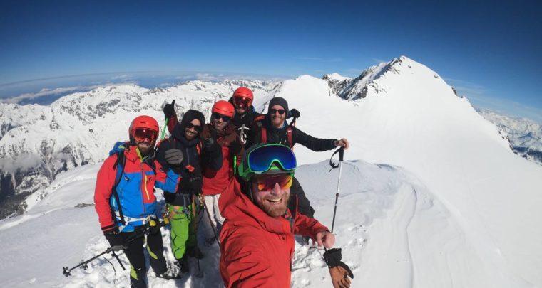 Une dernière sortie freerando avec Atomic à l'Alpe d'Huez