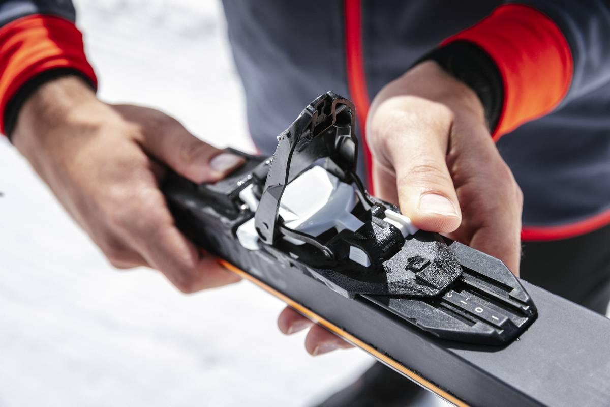 fixation de ski de fond