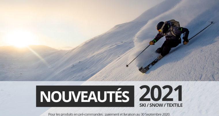 Nouveautés hiver 2020/2021 en pré-commandes chez Glisshop