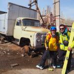 Ski rando Arménie Zsolt