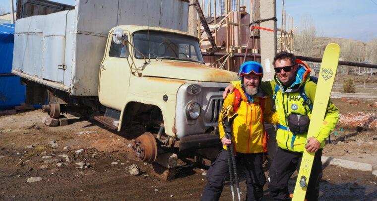 Ski sauvage en Arménie