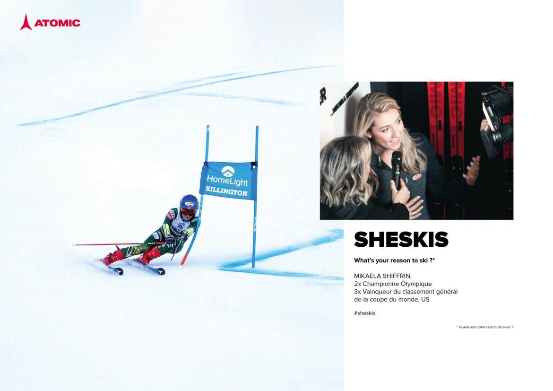 Mikaela Shiffrin, double championne olympique et quintuple championne du monde, victorieuse dans les cinq disciplines du ski alpin