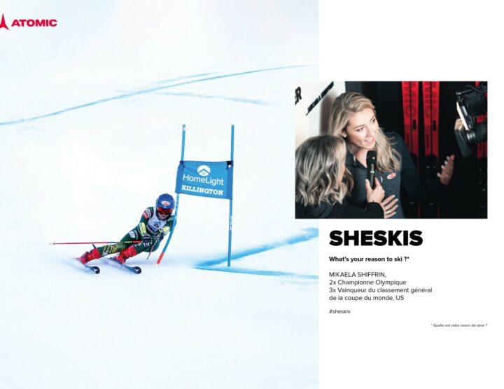 Un ski femme Atomic pour chaque skieuse ! #Sheskis