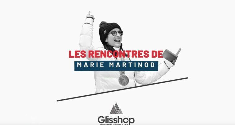 La skieuse freestyle Marie Martinod visite Glisshop