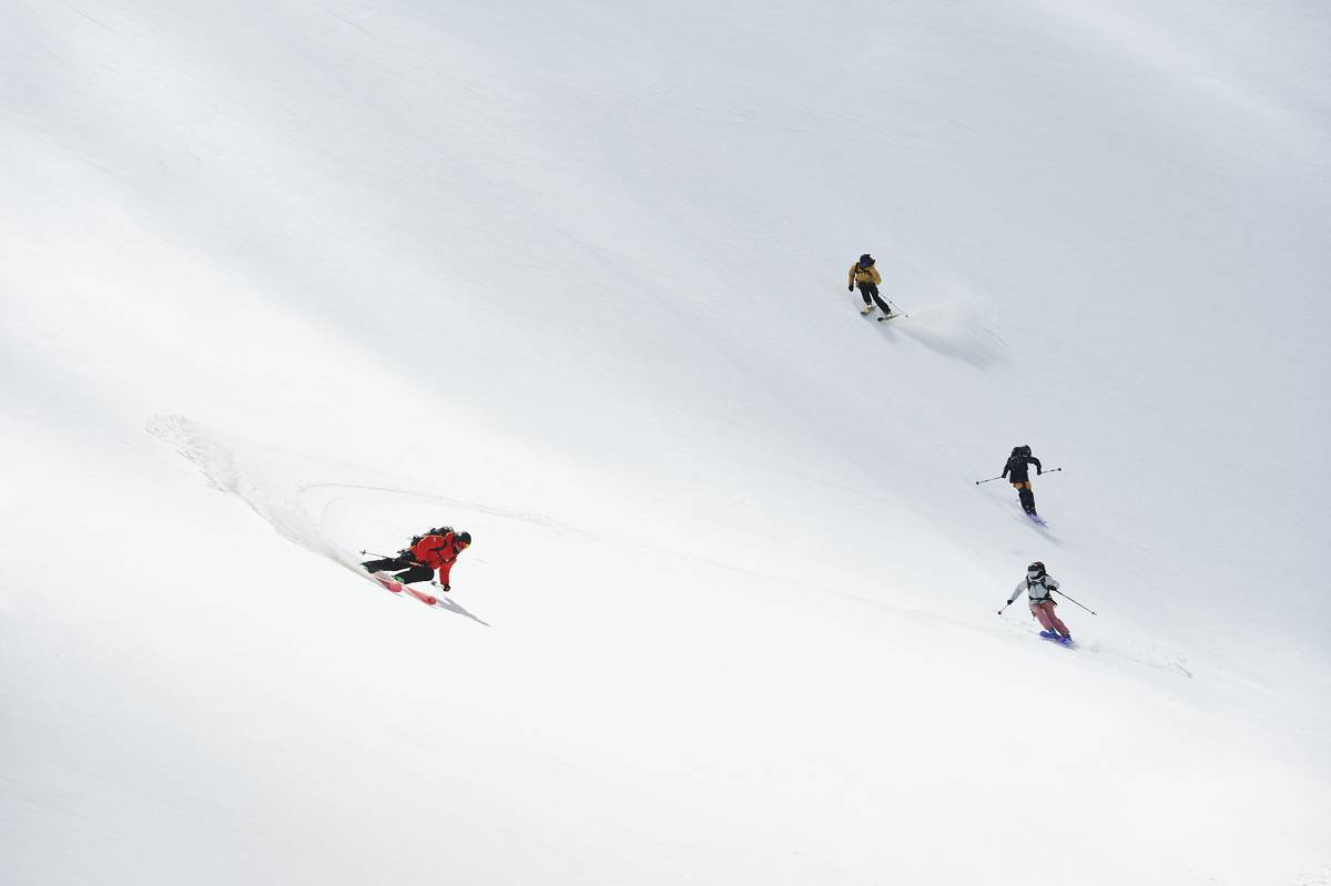 Ski Faction freeride