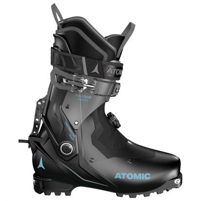 Chaussure de ski rando femme Atomic Backland Expert W Black Anthracite Light Blue
