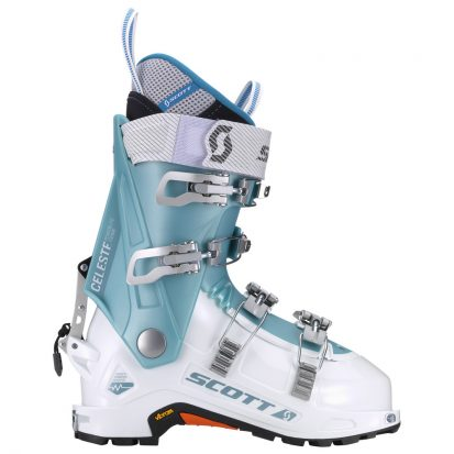 Chaussure de ski rando femme Scott Women Celeste White Blue