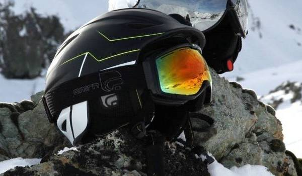 casque de ski cairn centaure