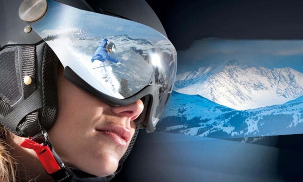 casque de ski cairn electron visor
