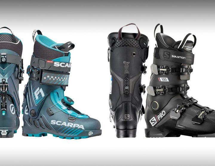 Chaussure ski rando et chaussure de ski : quelles différences ?