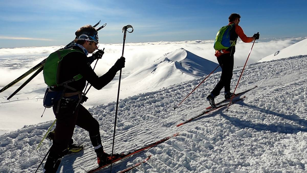 en peau de phoque en ski de fond