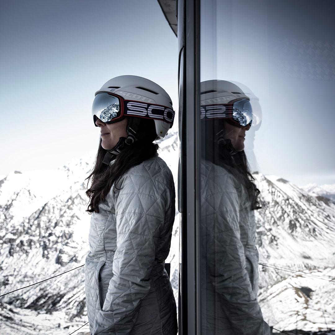 masque de ski scott vapor shield