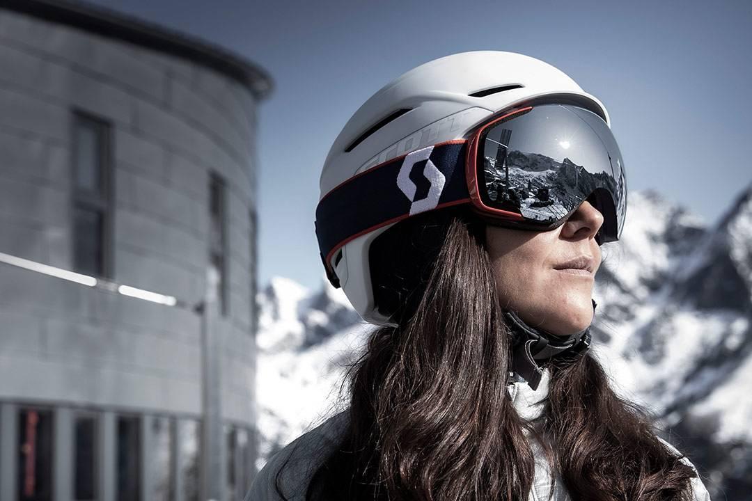 masque de ski scott vapor